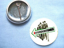 The Undertones  25mm Badge Buzzcocks  Sex Pistols The Stranglers The Clash Punk
