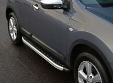 TO FIT: NISSAN QASHQAI 07-13: ALUMINIUM SIDE STEPS RUNNING BOARDS SIDE BARS