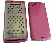 Case Housing Battery Cover Fits S. Eric Xperia Arc S X12 LT15i LT18i  Pink UK