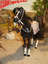 Big Jim - Karl May Winnetou ´ Pferd ILTSCHI - Rappe mit Mähne! Barbie Horse OOAK