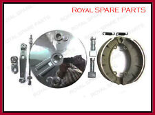 "Royal Enfield 7"" Front Brake Plate Assembly"