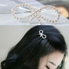 2Pcs Fashion Women Girls Crystal Rhinestone Butterfly Barrette Hair Clip Hairpin