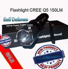 Tourch Police Self-defense Electric Shock  LED Flashligh