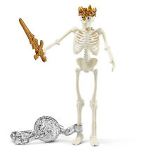 Schleich 42150 Skeleton King Sword Ball Chain Toy Model RPG Character - NIP