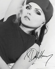 DEBBIE HARRY #2 10X8 PRE PRINTED (SIGNED) LAB QUALITY PHOTO REPRINT - FREE DEL
