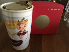 Starbucks 2015 Dot Collection Siren in Water Ceramic Mug NIB