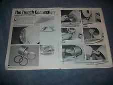 "1947-'54 Chevy Frenched Headlamp Kit How To Article ""Frenched Connection"" Hagan"