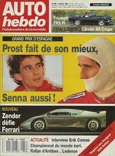 AUTO HEBDO n°696 du 4 Octobre 1989 GP ESPAGNE ZENDER