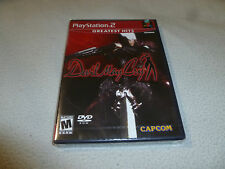 BRAND NEW SEALED PLAYSTATION 2 VIDEO GAME DEVIL MAY CRY CAPCOM RARE NFS