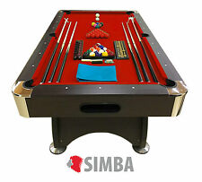 7 Ft Pool Table Billiard Playing Table Game billiards RED DEVIL Indoor Sports