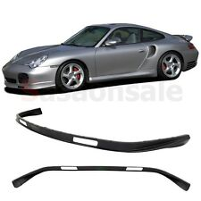 Fit for 2001-2005 PORSCHE 911 Carrera 996 Turbo 4S Front Bumper Add on Lip - PU