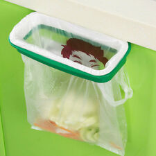 Hanging Kitchen Cabinet Door Back Stand Trash Storage Garbage Rubbish Bags Rack