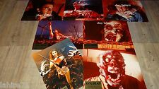 EVIL DEAD sam raimi tres rare jeu photos luxe cinema lobby cards 1er tirage 1983