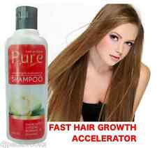 PURE HAIR GROWTH SHAMPOO ✪ Grow Thicker Hair, Volume Thickening Reduce Hair Loss