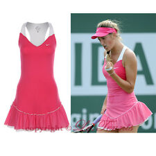 BNWT NIKE BY VICTORIA AZARENKA SET POINT KNIT Tennis Golf Running Dress - XS 0 2