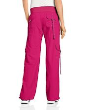 Zumba Fitness Feelin it Cargo Pants - Mulberry Sz Large - NEW