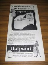 1953 Print Ad Hotpoint Freezers Upright & Chest Type Chicago,IL