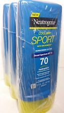 NEUTROGENA COOL DRY SPORT SUNSCREEN LOTION SPF 70 (PACK OF 3) 5 FL OZ EA 01/2017