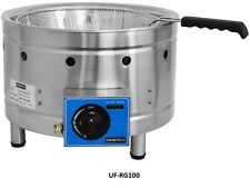 Uniworld Stainless Steel Propane Funnel Cake Fryer (CE) - Counter Top UF-RG100