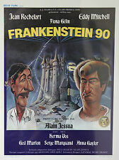 *Vintage Frankenstein 90 Belgian Mini Film Poster - French Belga Films 1984 Gift