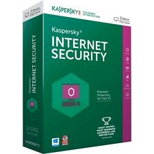 Kaspersky Internet Security 2017 3 PC 1 Anno licenza ESD