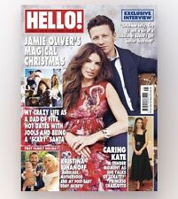 HELLO! Magazine #1459 - JAMIE OLIVER'S MAGICAL CHRISTMAS! (NEW)