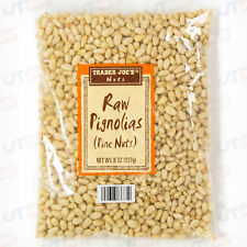 Trader Joe's Joes Raw Pignolias Pine Nuts 8 oz Bag