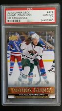 PSA 10 GEM MINT Mikael Granlund Rc 2013 Young Guns EXCLUSIVES # 018/100 Rookie