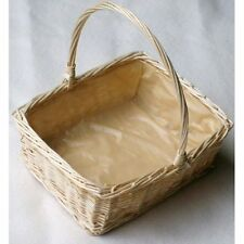 Wicker Rectangular Display/Floral Basket.Small