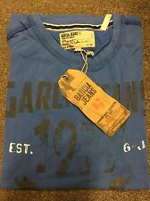 Garcia Jeans Coral Blue T-Shirt - Medium