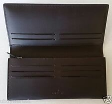 $430 Mulberry RL3628/664F130 Coat Wallet Soft Saddle Chocolate Leather Genuine