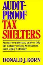 Audit-Proof Tax Shelters Korn, Donald Jay Paperback