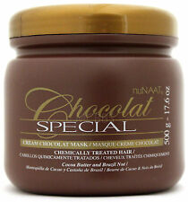 NUNAAT CHOCOLAT SPECIAL HAIR CONDITIONING MASQUE MASK COCOA BRAZIL NUT 17.6 OZ