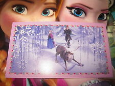 PANINI DISNEY FROZEN LA REINE DES NEIGES AUTOCOLLANT STICKER N° 100 BRILLANT