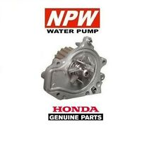 GENUINE HONDA (NPW JAPAN) WATER PUMP - HONDA CIVIC 1.6 VTI / SIR (B16A2) 1992-00