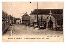 CPA 89 - SAINT CYR LES COLONS (Yonne) - 4. L'Abreuvoir et les fontaines