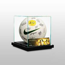 AUSTRALIAN SOCCEROOS 2014 FIFA WORLD CUP SQUAD SIGNED BALL PRESENTATION BOX