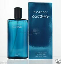 Cool Water for Men by Davidoff Eau De Toilette 4.2 OZ 125 ml  NEW