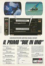 X2532 Videoregistratore AMSTRAD - Pubblicità 1991 - Advertising