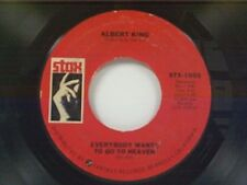 """ALBERT KING """"EVERYBODY WANTS TO GO TO HEAVEN / CAN'T YOU SEE WHAT YOU'RE"""" 45"""