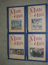THE MIDDLE AGES An Encyclopedia for Students William Chester Jordan SET of 4 Vol