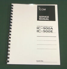 Icom IC-900A/E Service Manual - Premium Card Stock & Protective Covers!