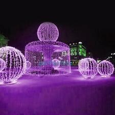 100 LED 10M Outdoor Solar Powered String Light Garden Christmas Party Fairy Lamp