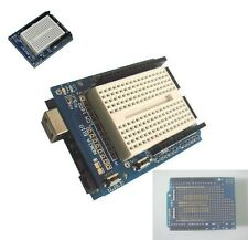 Arduino Prototyping Prototype Shield ProtoShield With Mini Breadboard NEW