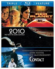 2010:THE YEAR WE MADE / RED PLANET/ CONTACT -  Blu Ray - Sealed Region free