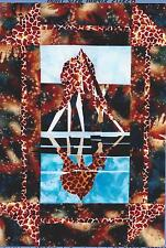 Giraffe at the Watering Hole pattern by Silver Linings