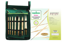 Knitter's Pride Bamboo Deluxe Interchangeable Circular Needle Set