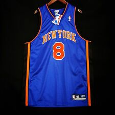 100% Authentic Latrell Sprewell Reebok Knicks Jersey Size 48 XL
