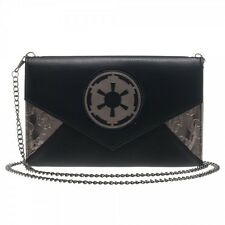 Star Wars Licensed Imperial Envelop Wallet w/ Chains Authentic Galactic Logo NEW