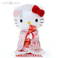 Sanrio Hello Kitty Plush Doll Kimono Pink Japanese Kawaii Japan Limited gift